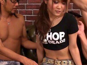 Fantastisk japansk jente Miyu i utrolig JAV usensurert Blowjob video,